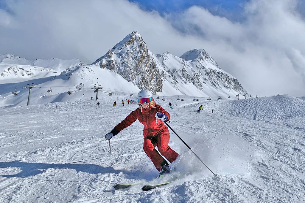 Miranda Ski fahren