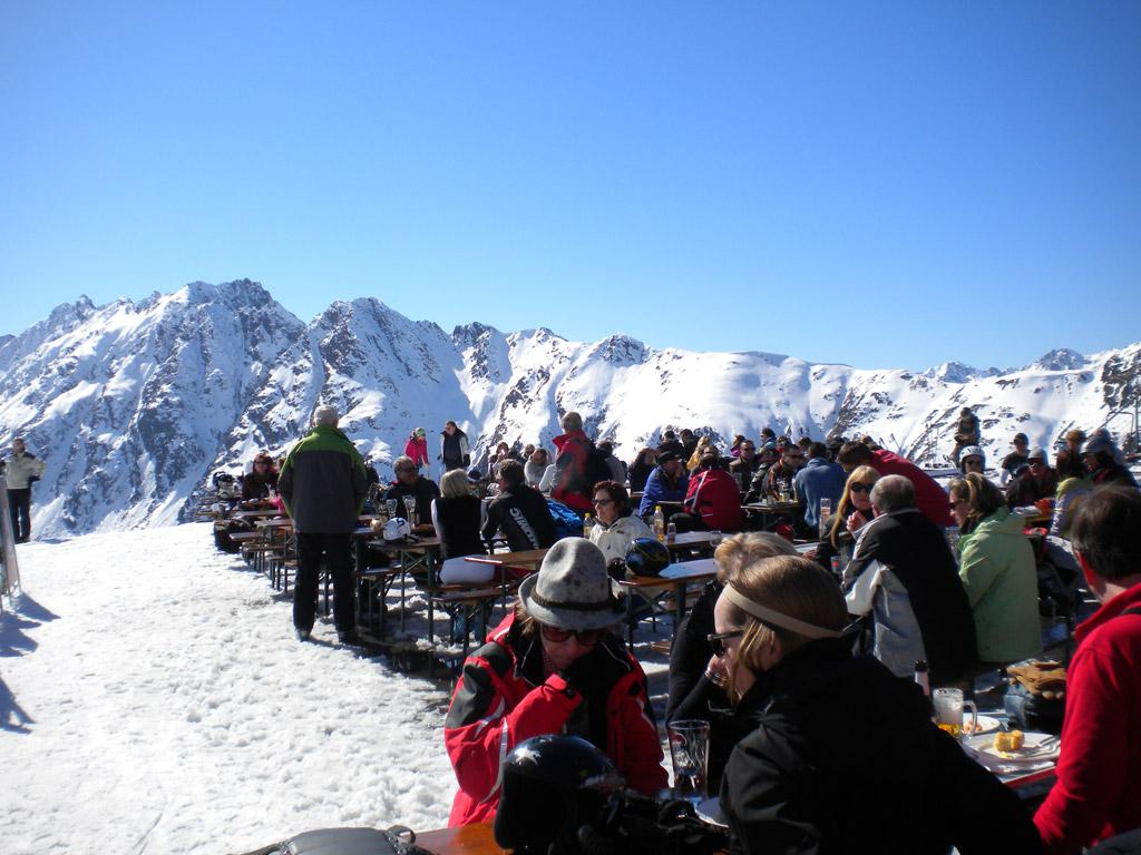 Mountain restaurant Ischgl