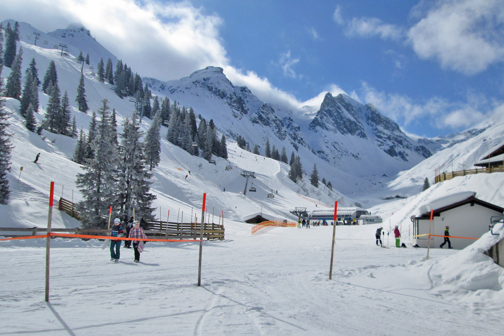Skigebied Silvretta Montafon
