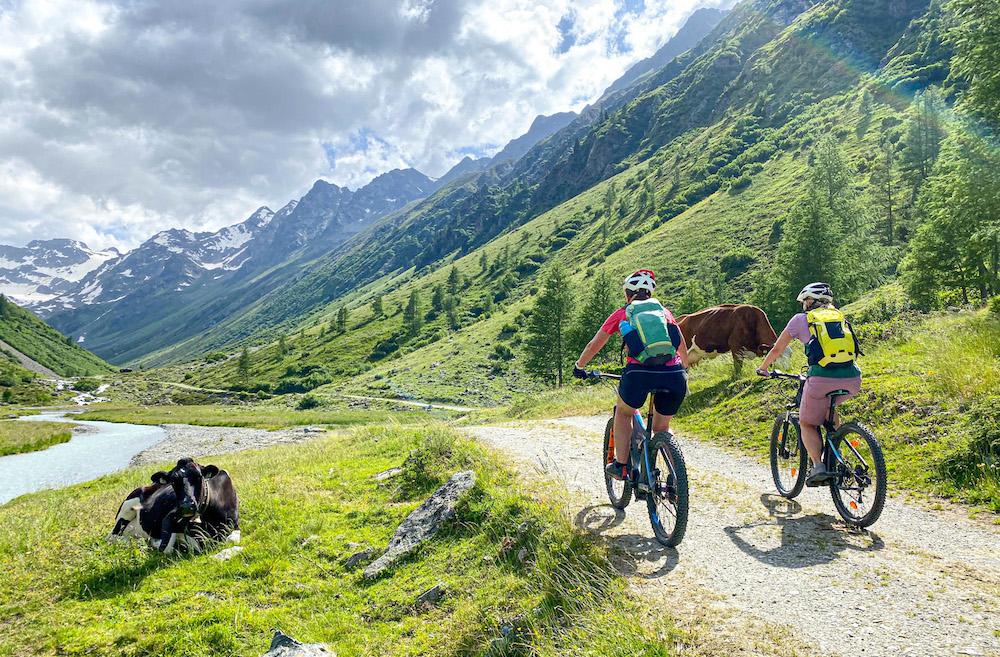 mountainbiken paznaun
