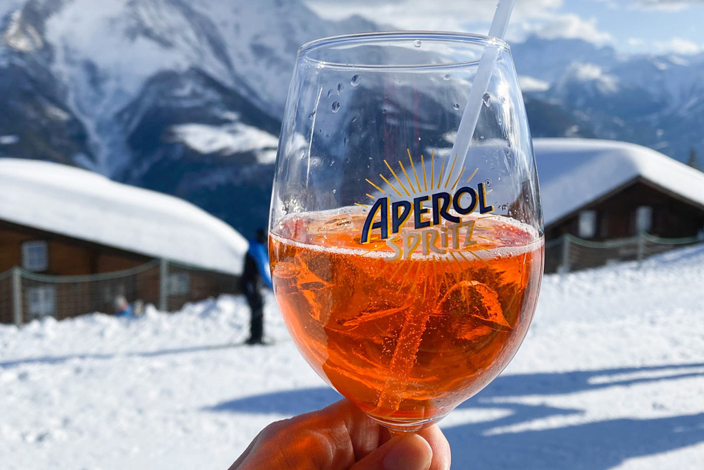 Aperol Spritz Wintersport