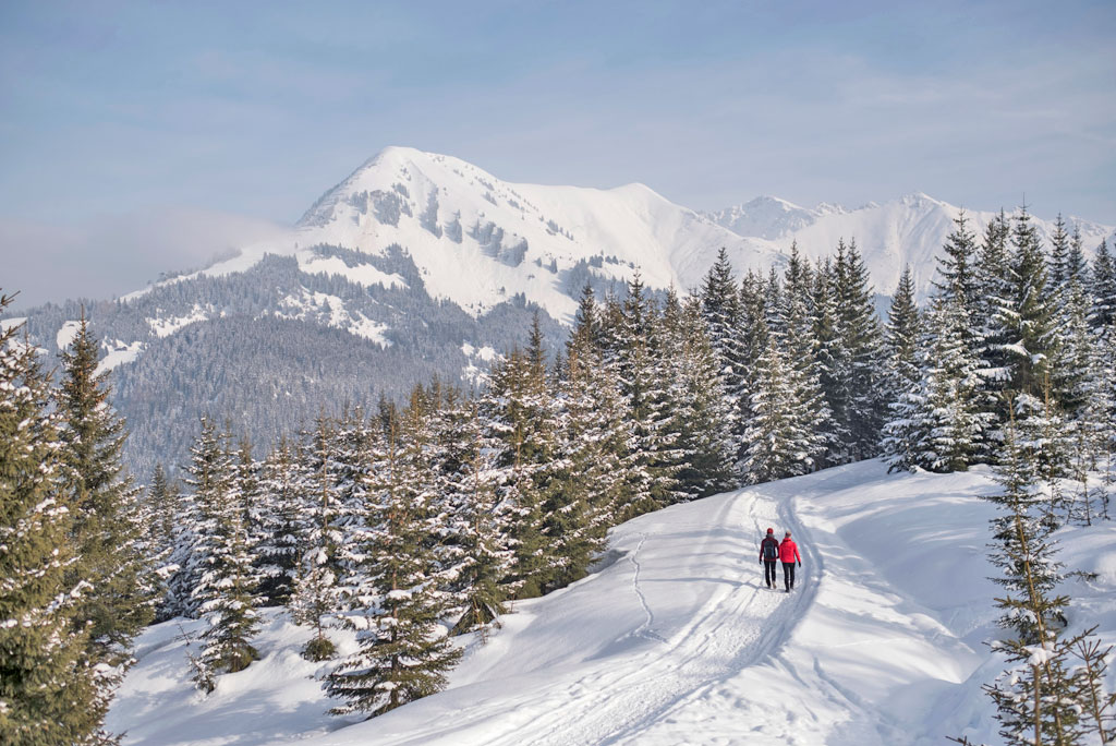 Winterwandelen Natuurparkregio Reutte