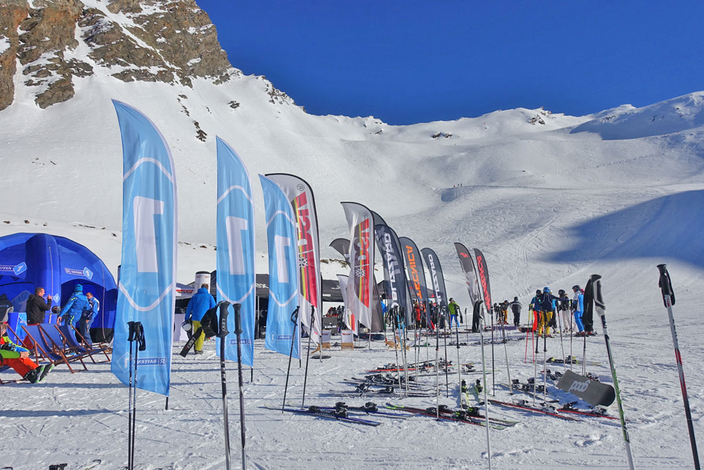 Test-ski evenement