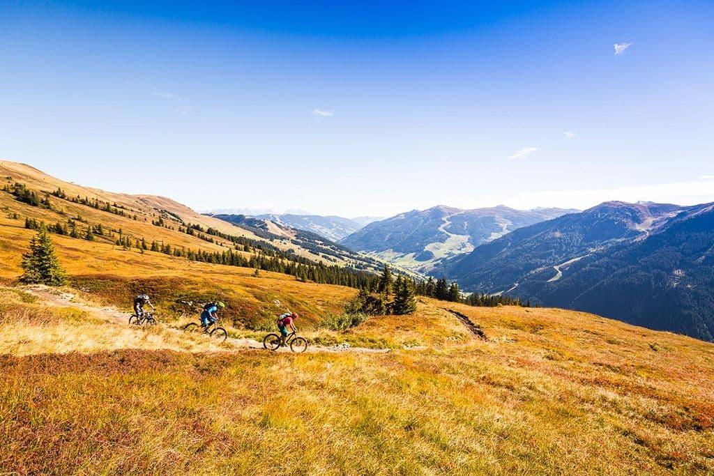 Hochalm-Trail op de Reiterkogel
