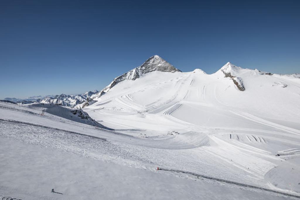 Ski area at the Hintertux Glacier