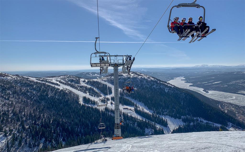 view in Sweden vs. Alps