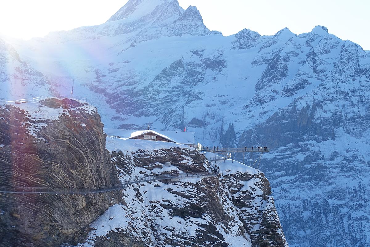 First Flieger in Grindelwald First