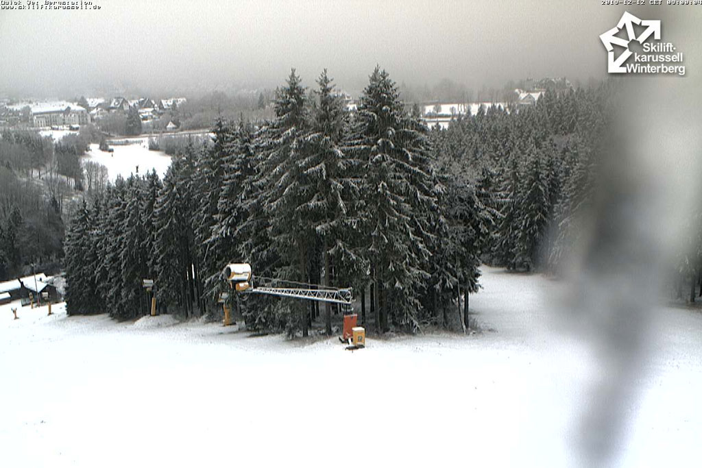 Sneeuw in Winterberg