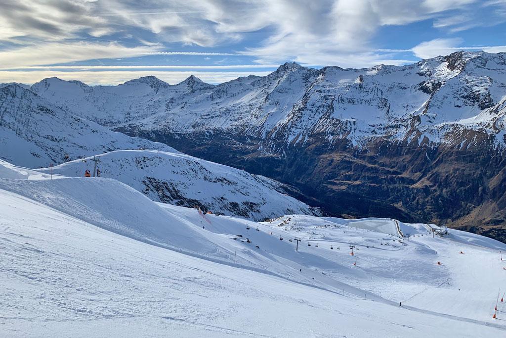 Ski piste Gurgl