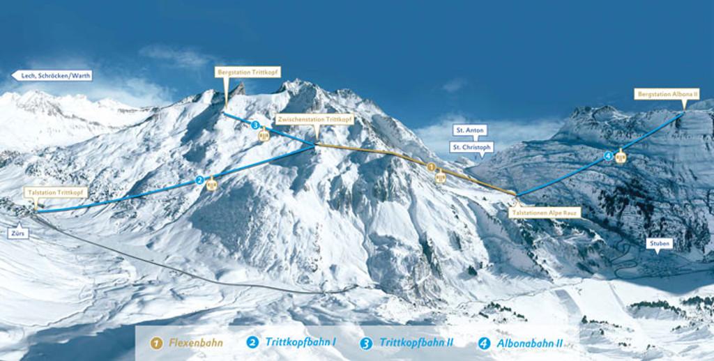 new lifts ski arlberg