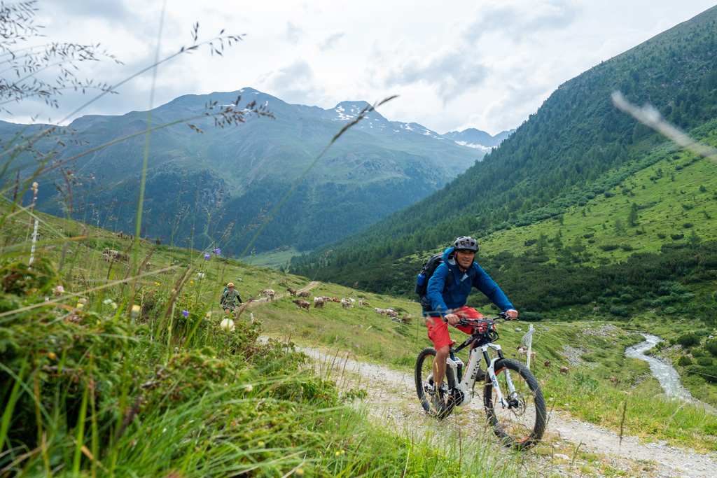 mountainbiken livigno