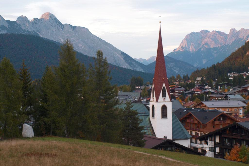 Seefeld met Karwendel