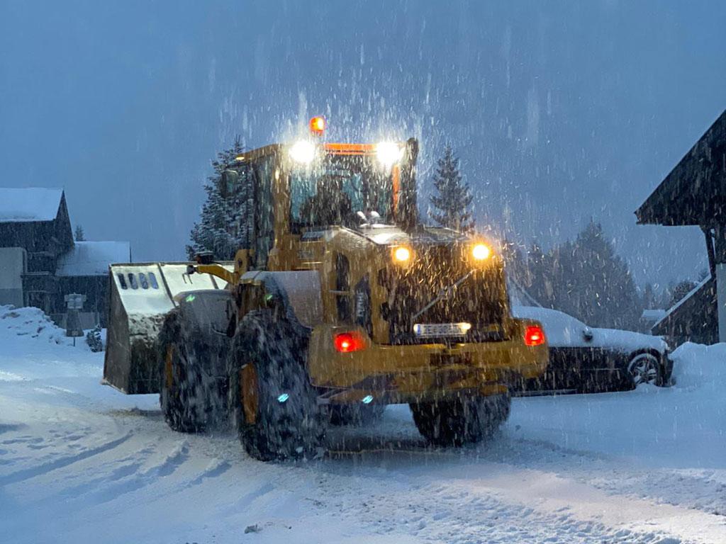 Nettoyant la neige Zillertal Arena