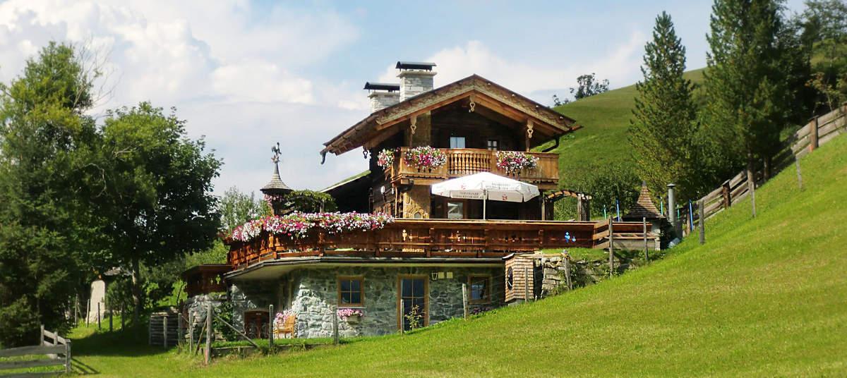 Romantische berghut in Rauris