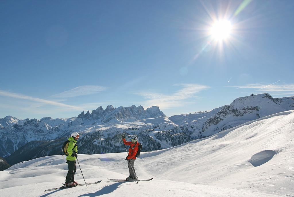 Uitzicht op de Dolomieten