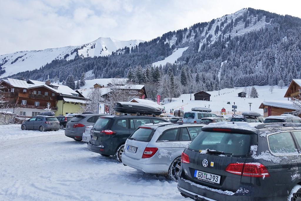 Duitse auto's wintersport