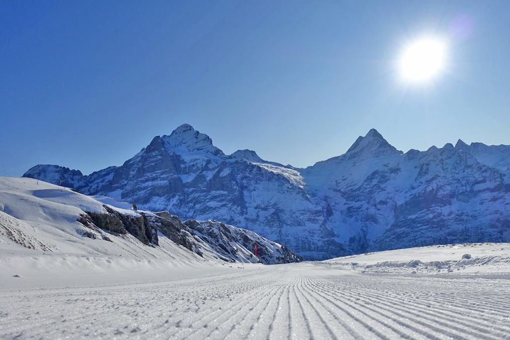 Jungfrau Region landschap