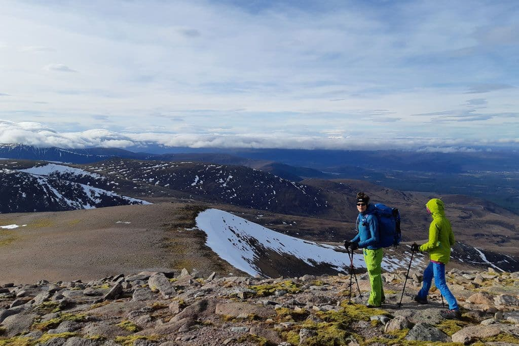 Hill walking in Cairngorms