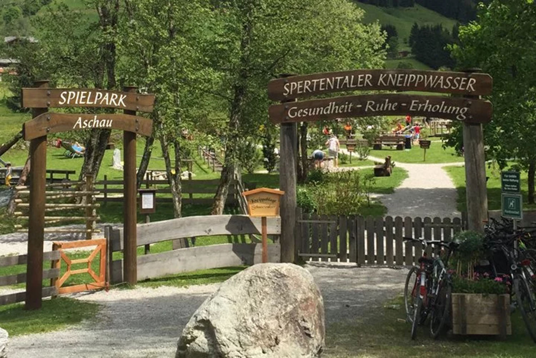 aschau - unter grund fietsroute voor families