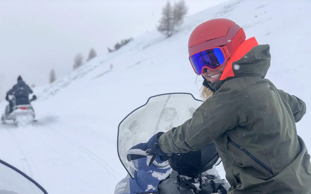 Sneeuwscooter Livigno