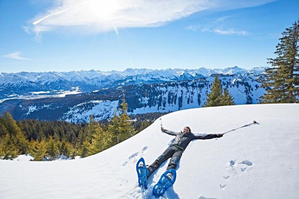 Schneeschuhwandern im Allgäu