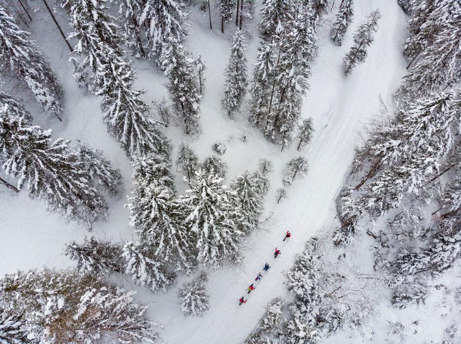 snowshoeing Ruhpolding