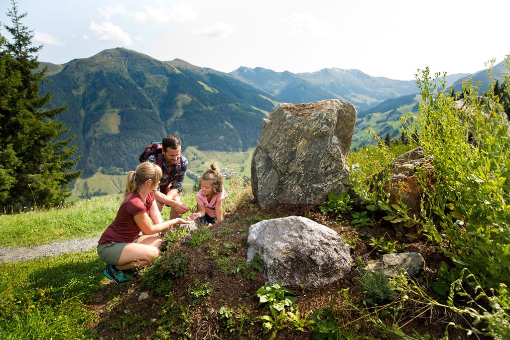 Wandelen met kinderen in Saalbach Hinterglemm