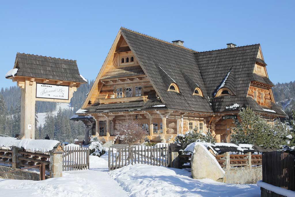 Traditioneel huis Zakopane