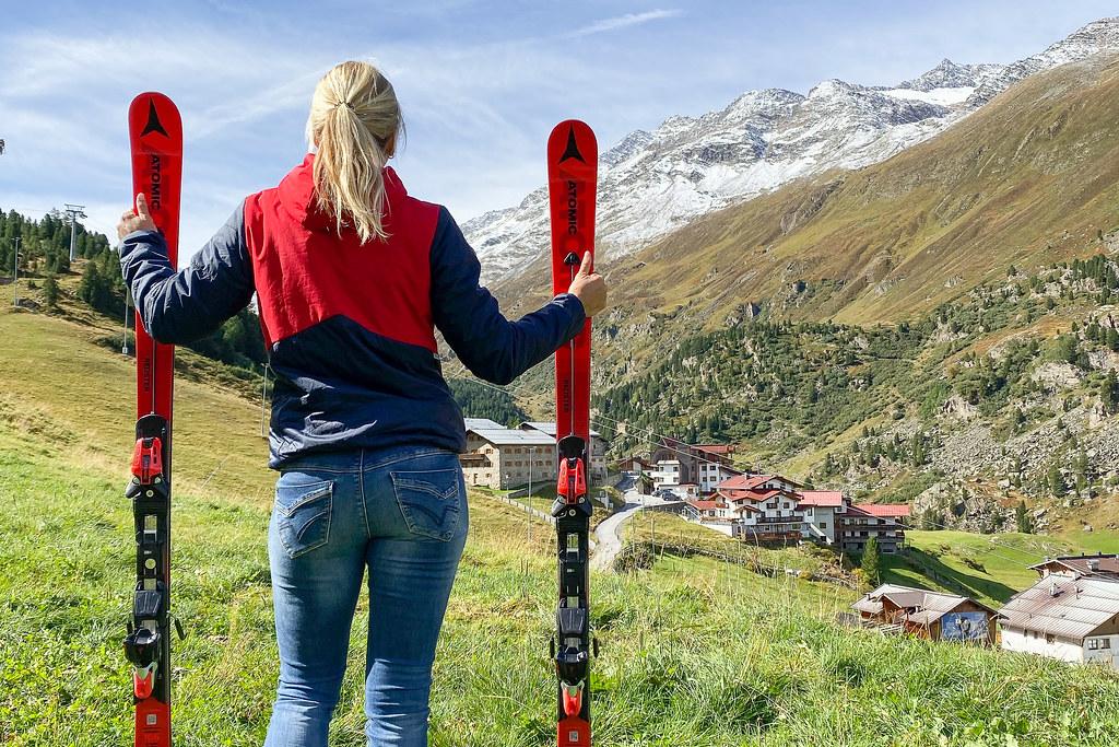 Ski's zomer