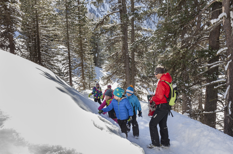 Winterwandelen in Hochzeiger