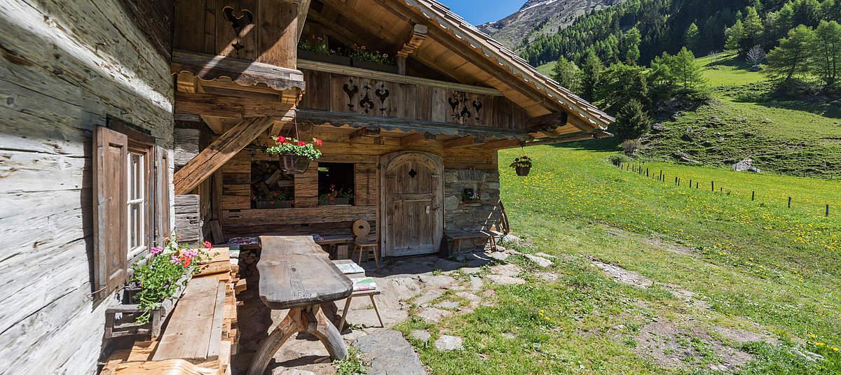 Berghut in Matrei