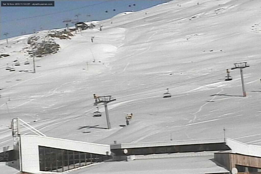 Oz en Oisans webcam