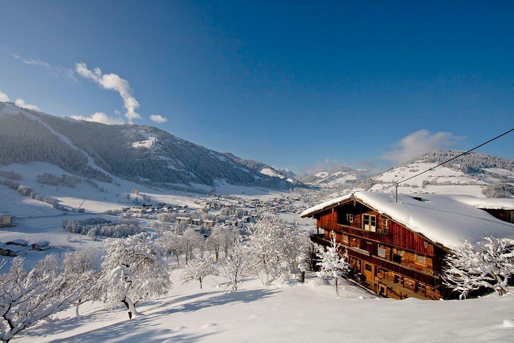 Landschap Ski Juwel