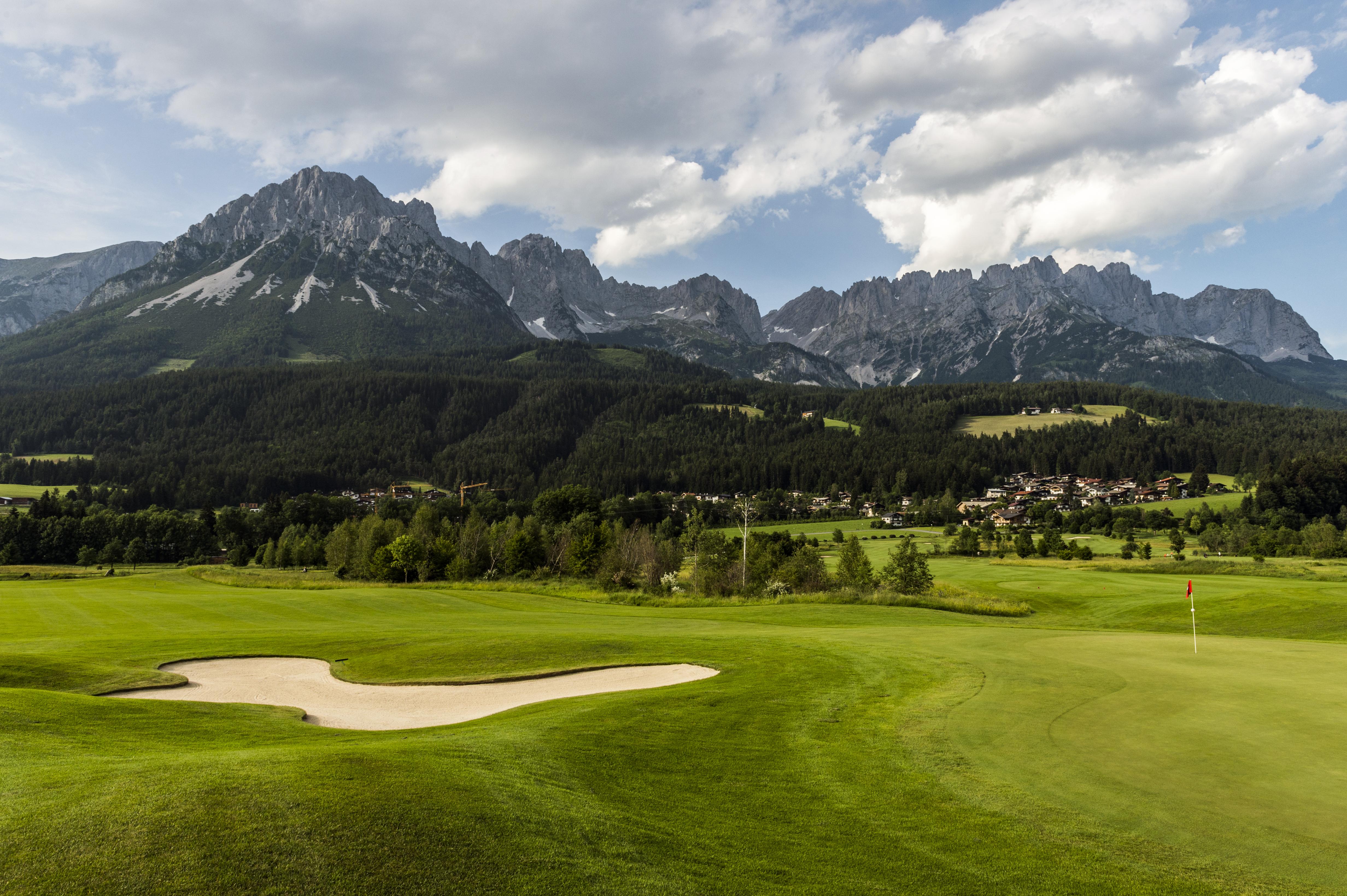 Golfen Wilder Kaiser